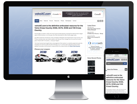 Volvo Cross Country Resources