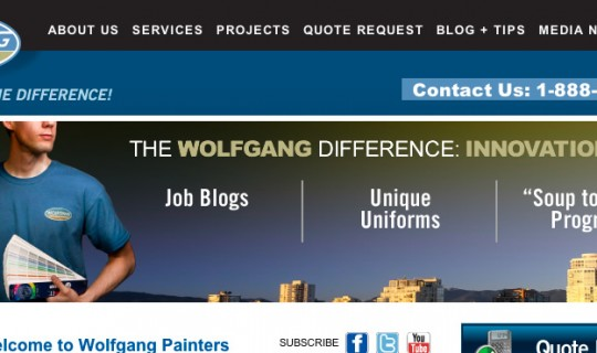 Wolfgang Painters now live
