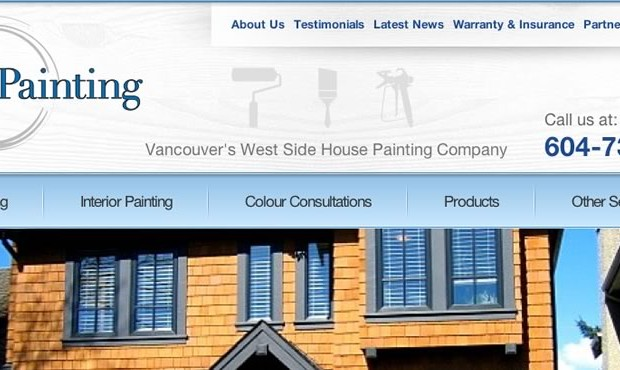 Careful Painting's website gets a new paint job