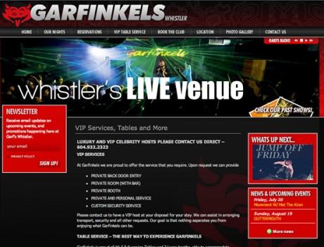 Garfinkel's Whistler