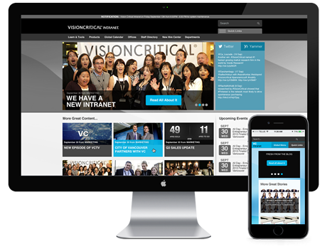 Vision Critical Intranet