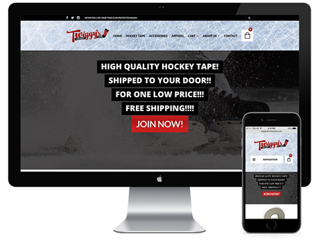 Twiggy's Hockey Tape